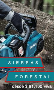 SIERRAS FORESTAL - PRO MAKITA