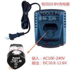 Taladro Atornillador 10,8 V / 12V Max 0-1,300rpm/0-350rpm (Max. Torque 24/14 Nm.) / 2 Batería Li-ion 1.3 Ah + Cargador