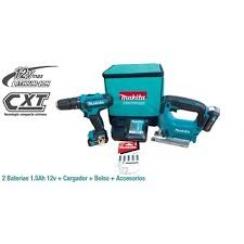 COMBO HP331DZ + JV101DZ / 2 Batería Li-ion 1.5Ah + Cargador DC10WD + ACC