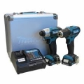 COMBO DF331DZ + TD110DZ / 2 Batería Li-ion 2.0Ah + Cargador DC10WC + BOLSO MAKITA