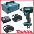 Atornillador de Impacto 0-3,500 rpm (max. Torque 165 N.m) 18 V / 2 Baterías Li-ion 3,0Ah + Cargador  XPT