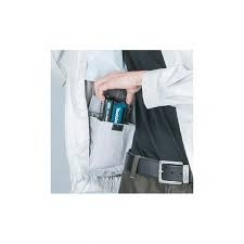 Chaqueta con Ventilador Inalambrica c/capucha / Polyester   - Talla  S / M / L / XL / 2XL /3XL