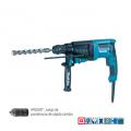 Martillo de Combinacion SDS-PLUS 26 mm.  800 W. 0-1.200 rpm.  3 modos.  2,8 kg. + Mandril de cambio rápido