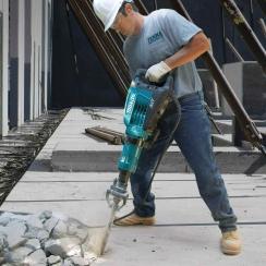 Martillo Demoledor Hexagonal 28.6 mm. 1.510 W.   19,0 kg. AVT + Soft No Load